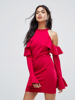 Free People Sweet Talk Frill Mini Dress