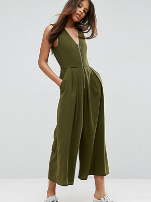 Asos Tall Jumpsuit with Ring Pull Detail
