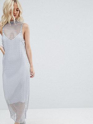 ASOS Petite 2 in 1 Maxi Dress in Large Mesh