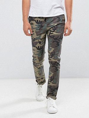 ASOS Skinny Camo Printed Trousers
