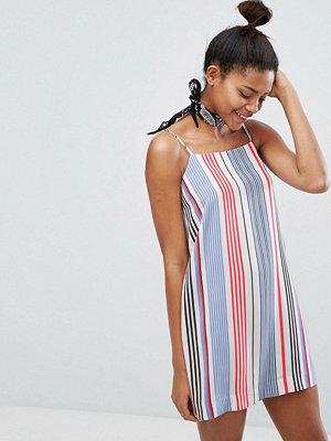 Monki Multi Stripe Cami Dress - Stripe