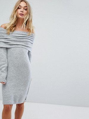 Miss Selfridge Bardot Midi Jumper Dress