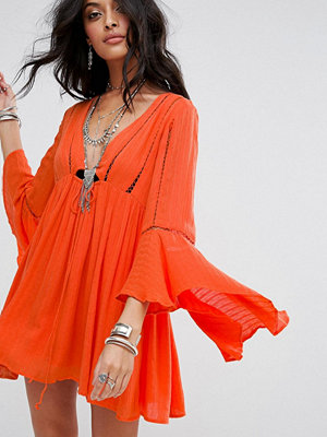 Free People Romeo Flared Sleeve Dress
