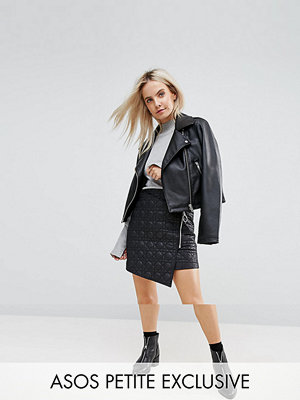 ASOS Petite Exclusive Puffer Mini Skirt with Zip