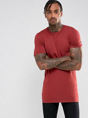 Tröjor & cardigans - ASOS Longline Viscose Mix T-Shirt
