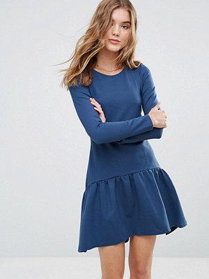 Closet London Closet Long Sleeve Pephem Dress