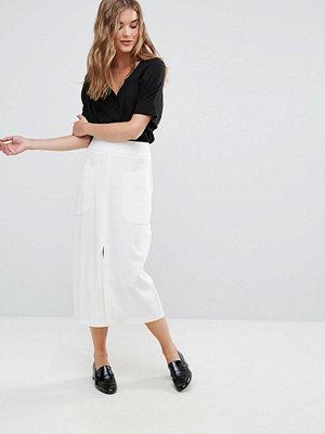 Closet London Closet Big Pocket Midi Skirt