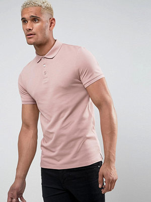 ASOS Muscle Fit Pique Polo