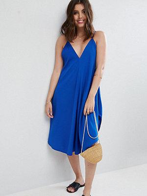ASOS Petite Cami Beach Dress with Dipped Hem