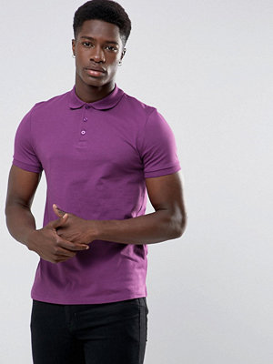 ASOS Short Sleeve Jersey Polo