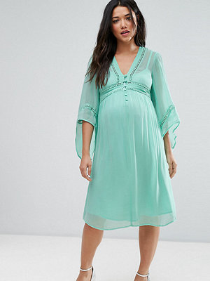ASOS Maternity Lace Up Dress