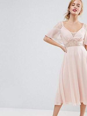 ASOS Petite Kate Lace Midi Dress