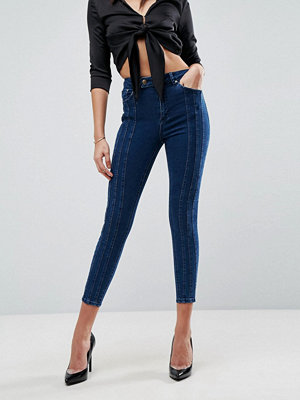 ASOS RIDLEY HIGH WAIST Skinny Jean With Triple Seams