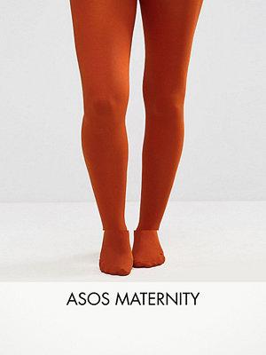 ASOS Maternity Rostfärgade strumpbyxor i 60 denier Rostfärgat