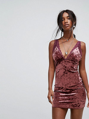Free People Viper Velvet Bodycon Dress
