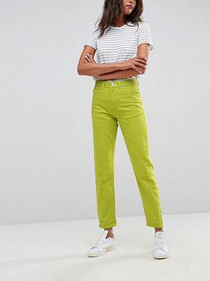 ASOS Original Mom Jeans in Neon