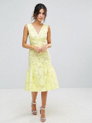 Warehouse Burnout Drop Waist Dress