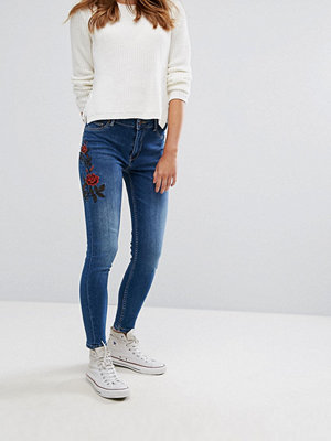 Pimkie Rose Embroidered Skinny Jeans