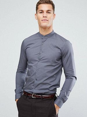 Calvin Klein Super Skinny Smart Grandad Shirt