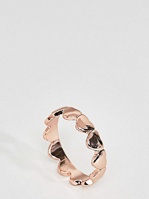 ASOS Curve Heart Ring