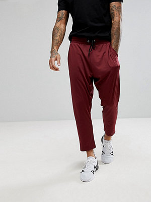 ASOS Tapered Cropped Retro Track Joggers