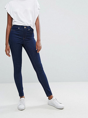 Oasis Mid Rise Skinny Jeans - Mid wash