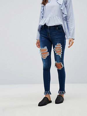Parisian Extreme Ripped Skinny Jeans