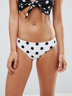 ASOS Mixed Spot Hipster Bikini Bottom