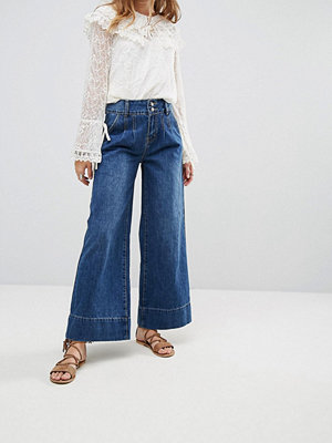 Moon River Wide Leg Jeans - Denim