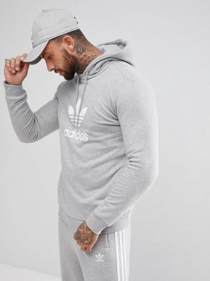 Adidas Originals adicolor Hoodie With Trefoil Logo In Grey CY4572 - Grey