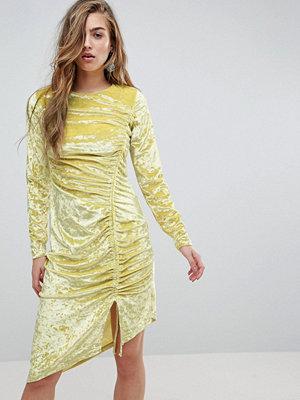 Miss Selfridge Miss Sefridge Velvet Ruched Mini Dress