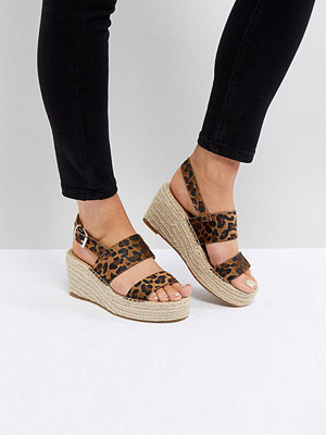 ASOS TOTO Wide Fit Espadrille Wedges