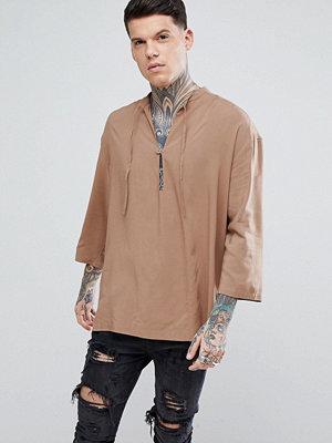 ASOS Oversized Viscose Over Head Shirt