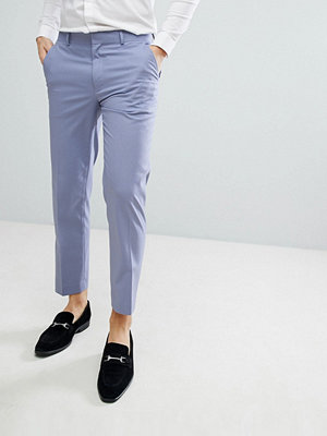 ASOS Skinny Smart Trousers In Lilac
