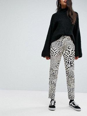G-Star Elwood 5622 x 25 Pharrell Jeans med leopardmönster Leopard