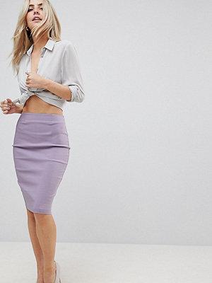 ASOS Petite High Waisted Pencil Skirt - Lilac