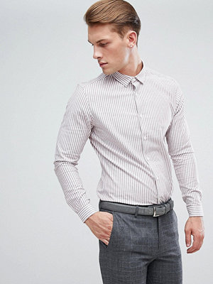 ASOS Smart Stretch Slim Oxford Stripe Shirt