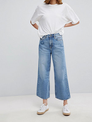 MiH Jeans M.i.h Sanon Wide Leg Jeans - Embro
