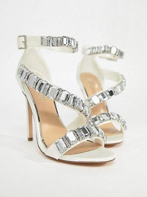 ASOS HOPES AND DREAMS Premium Bridal Heeled Sandals