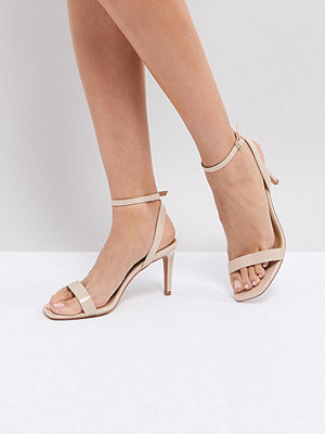 ASOS HALF TIME Barely There Heeled Sandals