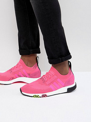 Adidas Originals NMD Racer PK Boost Trainers In Pink CQ2442 - Pink