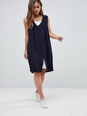 Bellfield Laure Double Layer Dress - Slate