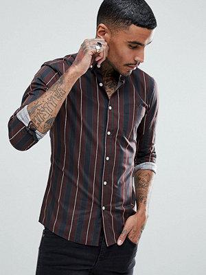 ASOS Skinny Fit Vintage Stripe Shirt