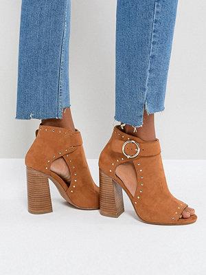 ASOS TAMARA Studded High Heeled Shoe Boots