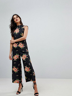 ASOS Jumpsuit with High Neck and Wide Leg