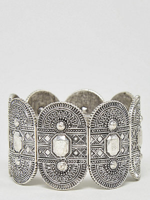 ASOS Curve armband Exclusive Engraved Stretch Bracelet