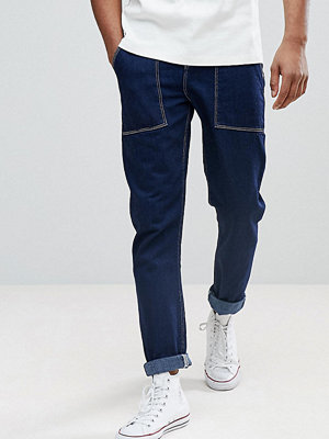 ASOS TALL Tapered Jeans In Recycled Cotton