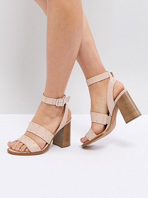 ASOS TESSIE Leather Studded Sandals