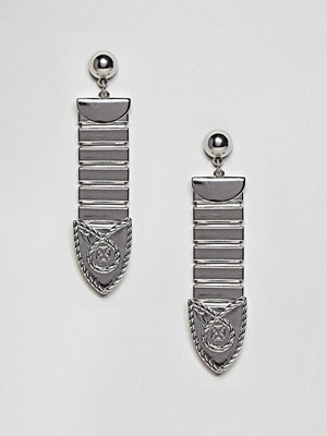 ASOS örhängen Metal Tipped Buckle Earrings