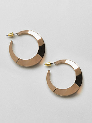 ASOS örhängen DESIGN split hoop earrings